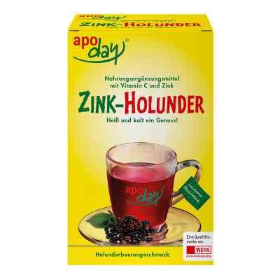 Apoday Holunder Vitamin C+zink ohne Zucker  Pulver