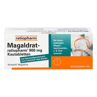 Magaldrat-ratiopharm 800mg  bei Apotheke.de bestellen