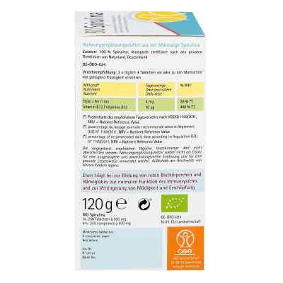 Spirulina 500 mg Bio Naturland Tabletten  bei Apotheke.de bestellen