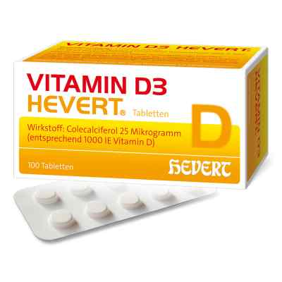 Vitamin D3 Hevert Tabletten  bei Apotheke.de bestellen