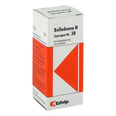 Synergon 38 Belladonna N Tropfen  bei Apotheke.de bestellen