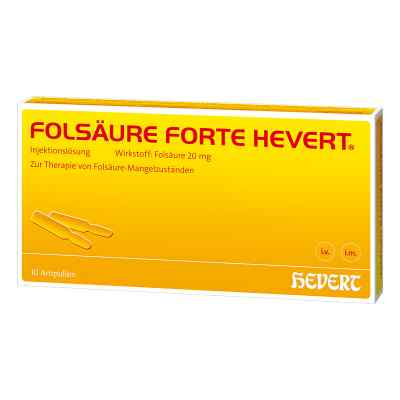 Folsäure Hevert forte Ampullen  bei Apotheke.de bestellen