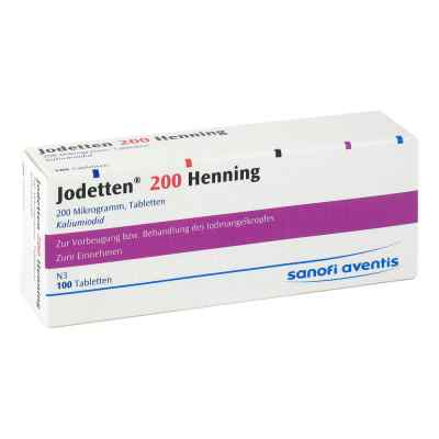 Jodetten 200 Henning 200 Mikrogramm  bei Apotheke.de bestellen