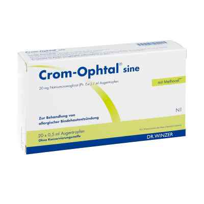 Crom-Ophtal sine Augentropfen  bei Apotheke.de bestellen