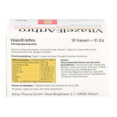 Vitazell Arthro Kapseln  bei Apotheke.de bestellen