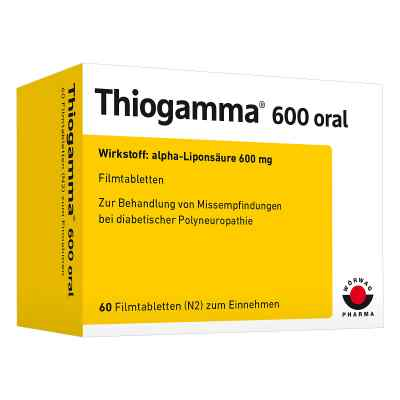 Thiogamma 600 oral  bei Apotheke.de bestellen