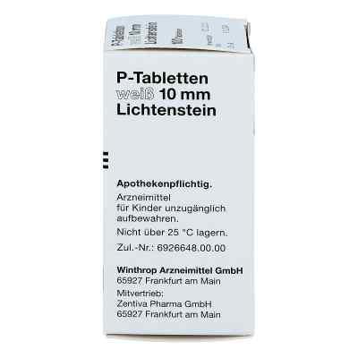 P Tabletten weiss 10 mm  bei Apotheke.de bestellen