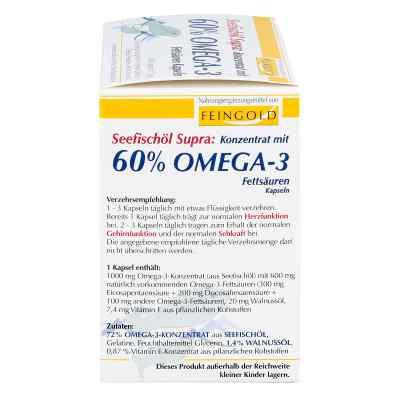Seefischöl Supra mit 60% Omega-3-fetts.weichkaps.  bei Apotheke.de bestellen