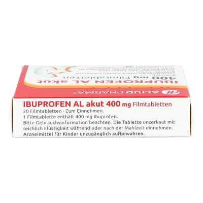Ibuprofen AL akut 400mg  bei Apotheke.de bestellen