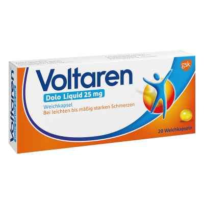 Voltaren Dolo Liquid 25mg Weichkapsel mit Diclofenac  bei Apotheke.de bestellen