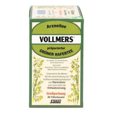 Vollmers präparierter grüner Hafertee Filterbeutel  bei Apotheke.de bestellen
