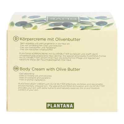Plantana Olive Butter Körper Creme  bei Apotheke.de bestellen