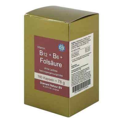 B12 + B6 + Folsäure ohne Lactose Kapseln  bei Apotheke.de bestellen