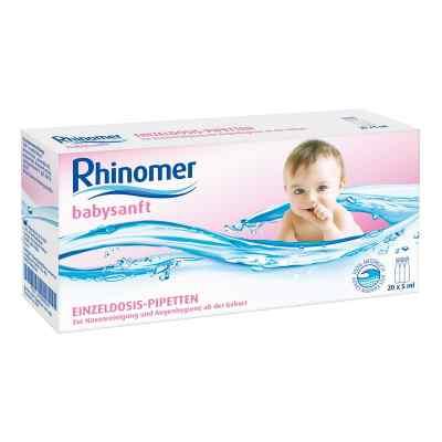 Rhinomer babysanft Meerwasser 5ml Einzeldosispipetten