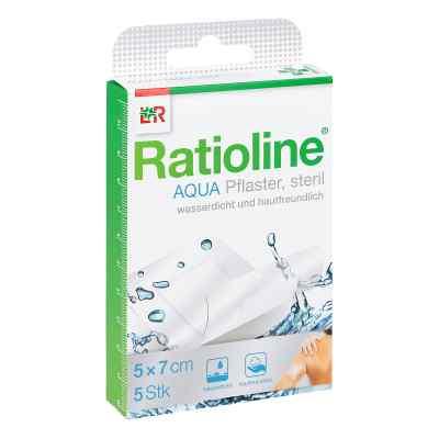 Ratioline aqua Duschpflaster Plus 5x7 cm steril  bei Apotheke.de bestellen