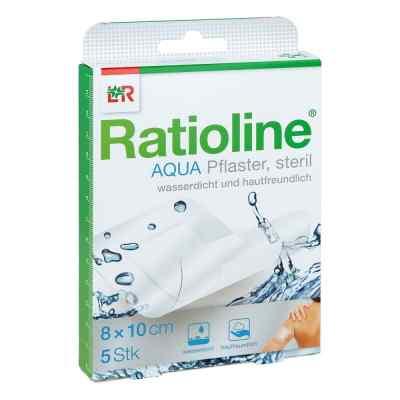 Ratioline aqua Duschpflaster Plus 8x10 cm steril  bei Apotheke.de bestellen