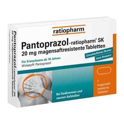 Pantoprazol-ratiopharm SK 20mg  bei Apotheke.de bestellen