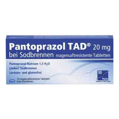 Pantoprazol TAD 20mg bei Sodbrennen  bei Apotheke.de bestellen