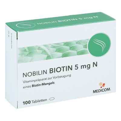 Nobilin Biotin 5 mg N Tabletten  bei Apotheke.de bestellen