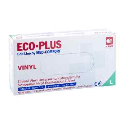 Vinyl Einweg-handschuhe Ecoline Plus Größe l  bei Apotheke.de bestellen