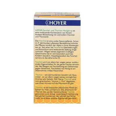 hoyer fenchel thymian honigsirup 250 g ihre g nstige online versand apotheke im internet. Black Bedroom Furniture Sets. Home Design Ideas
