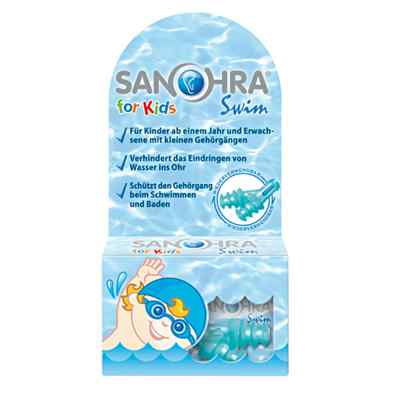 Sanohra swim für Kinder  Ohrenschutz