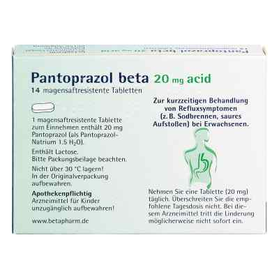 Pantoprazol beta 20mg acid  bei Apotheke.de bestellen
