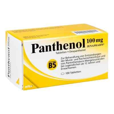 Panthenol 100 mg Jenapharm Tabletten  bei Apotheke.de bestellen