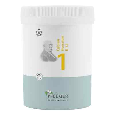 Biochemie Pflüger 1 Calcium fluor.D 12 Tabletten  bei Apotheke.de bestellen