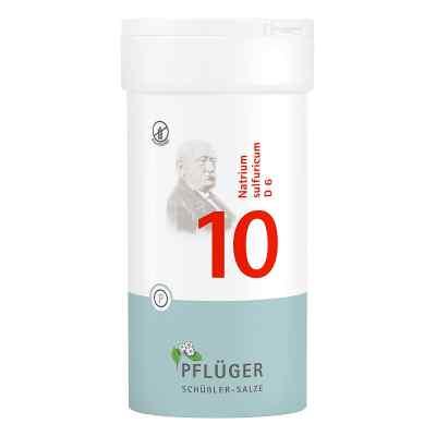 Biochemie Pflüger 10 Natrium Sulfur D  6 Tabletten