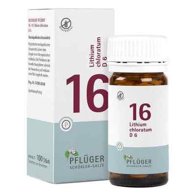 Biochemie Pflüger 16 Lithium chloratum D6 Tabletten  bei Apotheke.de bestellen