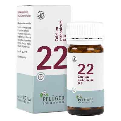 Biochemie Pflüger 22 Calcium carbonic.D 6 Tabletten   bei Apotheke.de bestellen