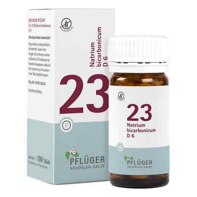 Biochemie Pflüger 23 Natrium bicarbon.D 6 Tabletten   bei Apotheke.de bestellen