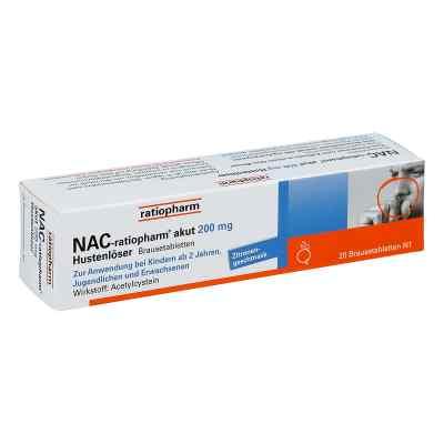 NAC-ratiopharm akut 200mg Hustenlöser  bei Apotheke.de bestellen