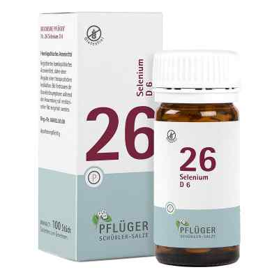 Biochemie Pflüger 26 Selenium D 6 Tabletten  bei Apotheke.de bestellen