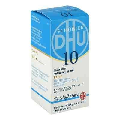 Biochemie Dhu 10 Natrium Sulfur D  6 Karto Tabletten