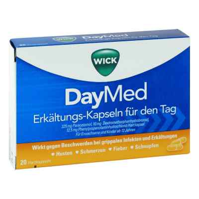 WICK DayMed Erkältungs-Kapseln für den Tag