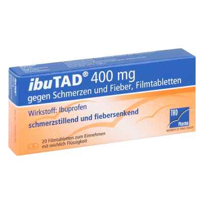 IbuTAD 400mg gegen Schmerzen und Fieber  bei Apotheke.de bestellen