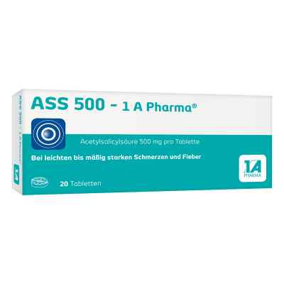 ASS 500 - 1A Pharma