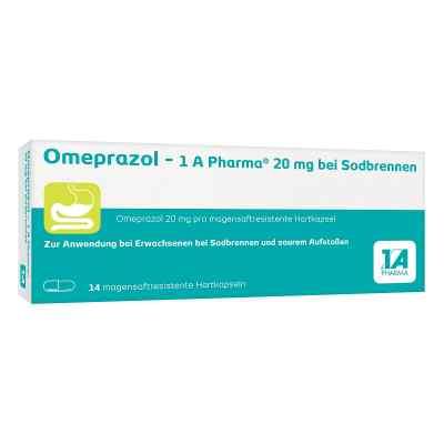 Omeprazol-1A Pharma 20mg bei Sodbrennen  bei Apotheke.de bestellen