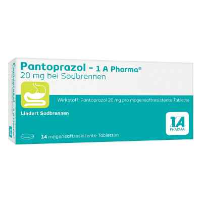 Pantoprazol-1A Pharma 20mg bei Sodbrennen  bei Apotheke.de bestellen