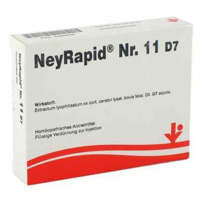 Neyrapid Nummer 11 D7 Ampullen  bei Apotheke.de bestellen