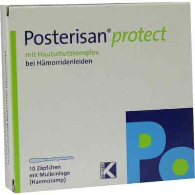 Posterisan protect Suppositorium  mit Mulleinlage  bei Apotheke.de bestellen