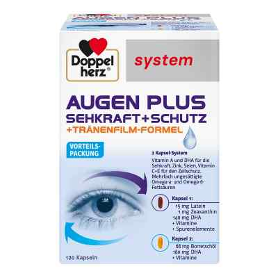 Doppelherz Augen plus Sehkraft+Schutz System Kaps.  bei Apotheke.de bestellen