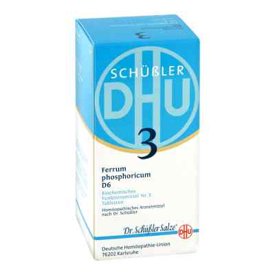Biochemie Dhu 3 Ferrum phosphorus D6 Tabletten  bei Apotheke.de bestellen