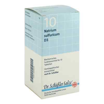 Biochemie Dhu 10 Natrium Sulfur D3 Tabletten  bei Apotheke.de bestellen