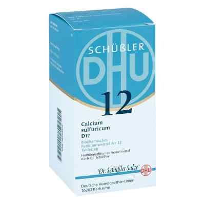 Biochemie Dhu 12 Calcium Sulfur D12 Tabletten  bei Apotheke.de bestellen
