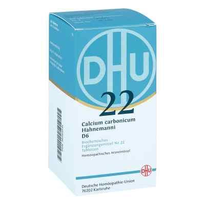 Biochemie Dhu 22 Calcium carbonicum D6 Tabletten  bei Apotheke.de bestellen