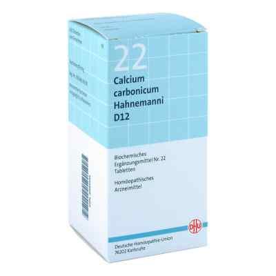 Biochemie Dhu 22 Calcium carbonicum D12 Tabletten  bei Apotheke.de bestellen