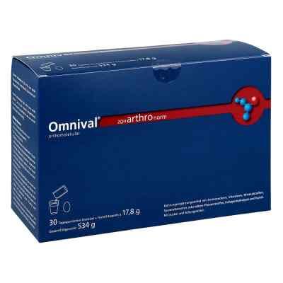 Omnival orthomolekul.2OH arthro norm 30gran.kap.  bei Apotheke.de bestellen